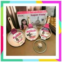 SUPER PAN BOLDe Panci Granite Ceramic Cookware Set Free Bubble SUPERPA