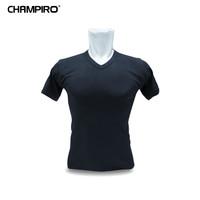 Champiro Man T-Shirt V-Neck Kaos Pria Dewasa C3112C