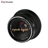 Murah Lensa 7artisan 25mm F 1.8 for Fuji Black