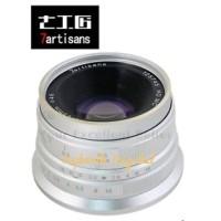 Murah Lensa 7artisan 25mm F 1.8 for Fuji Silver