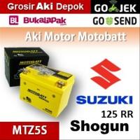 Aki kering/ Shogun 125 RR Suzuki/ MOTOBATT MTZ5S/ accu gel motor BB