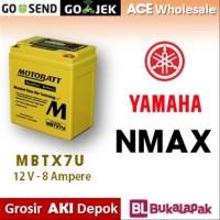 Aki gel NMAX Yamaha MOTOBATT MBTX7U accu Gel kering motor MOTOBAT accu