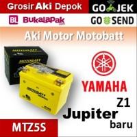 Aki kering/ Jupiter Z1 Yamaha/ MOTOBATT MTZ5S/ accu gel motor BB