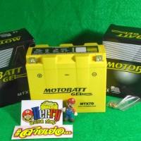 Accu Aki Motor Motobatt Gel MTX7D HONDA TIGER - Yamaha Nouvo - Yamaha