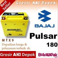 Aki Bajaj PULSAR 180 MTX9 MOTOBATT accu motor gel kering u/ Yuasa GS