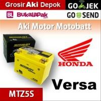Aki kering/ Verza 150 SW Honda/ MOTOBATT MTZ5S/ accu gel motor BB