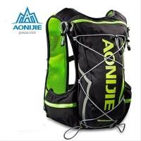 AONIJIE WindRunner 5L HYDRATION BACKPACK TAS LARI black green BL