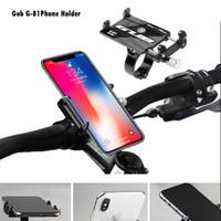 Gub G81 Phone Holder - Tempat Handphone Stang Sepeda Motor