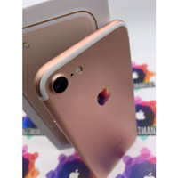 iphone 7 128gb rosegold second fullset