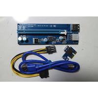 PCI-E Riser 1x to 16x USB Riser VGA Mining Ver 006c New Garansi
