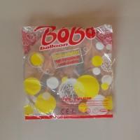Balon PVC Transparan 24 Inch merk Bobo hanya balonnya saja
