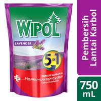 Wipol Karbol Pembersih Lantai Lavender Anti Serangga 750 ml