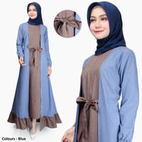Gamis Wanita | Erina Maxi | Dress Muslim Original Katun