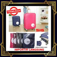 """Sarung Pelindung Koper 20 inch - Luggage Cover Bag 20"""" / Bungkus Koper"""
