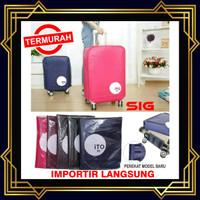 """Sarung Pelindung Koper 24 inch - Luggage Cover Bag 24"""" / Bungkus Koper"""