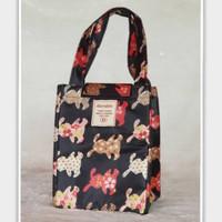 Lunch Bag Tas Bekal Tempat Penyimpanan Cooler Bag Travel Bag Travel Or
