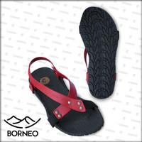 [Official] Sandal Camou Pria BORNEO Merah