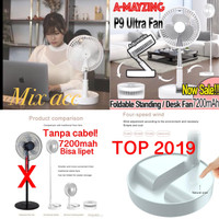 Kipas angin portable stand / Fan portbale stand 7200mah Cooling Fan