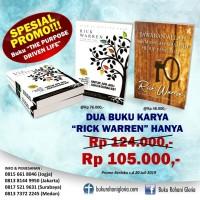Paket Buku Rick Warren 2 Buku Pupose Driven Life + Jawaban Allah