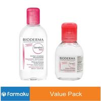 Value Pack Bioderma Sensibio H2O 250 Ml + 100 Ml