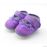 Sepatu Pre Walker Polkadot Spatu Belajar Jalan Bayi Anak Cewe Prempuan