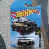 Hotwheels 2019 Honda City Turbo Hitam