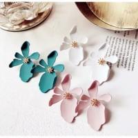 anting fashion korea bunga EFK03 / earring fashion korea