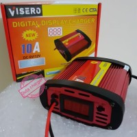 charger cas aki digital 6v 12v 10a bahan metal quality