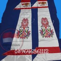 Bendera Umbul-Umbul corak Batik 3 meter