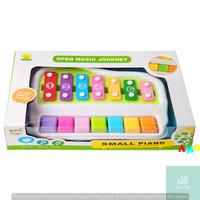 2 IN 1 XYLOPHONE PIANO Mainan Anak Alat Musik Musikal Bayi