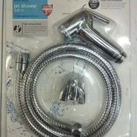 Toilet Shower Water Plus Chrome /Jet Shower Closet /Semprotan Toilet