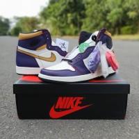 Nike Air Jordan Retro High SB Lakers to Chicago