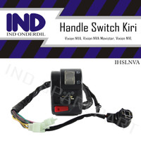 Handle-Holder Saklar-Switch Kiri-Left Lampu-Sen Vixion New-NVA-NVL