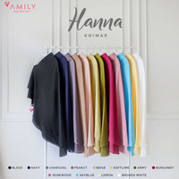 Khimar Hanna Jumbo by Amily - Khimar Soft Georgette Polos Murah