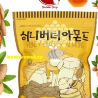 HONEY BUTTER ALMOND 250GRAM / KACANG ALMOND MADU KOREA RESMI BPOM