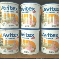 Cat Avitex Avian 5kg/ Cat Tembok/ Plafon/ Gysum/ Avian Brands