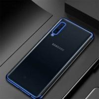 Samsung Galaxy A70 Shining Plating Chrome TPU Soft Case Transparant Ca