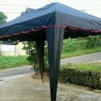 cover tenda cafe 2x3 piramid