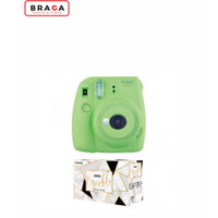 Fujifilm Instax Mini 9 Marble Package Lime Green