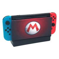 Nintendo Switch dock Case / Sarung Dock Mario Logo