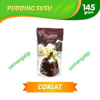 Nutrijell Pudding Susu rasa Coklat Nutrijel bubuk instant 145 gram
