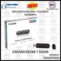D-Link Dlink N300 Wireless USB Adapter 300Mbps Resmi