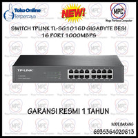 Tp-Link Tplink 16-Port Gigabit Switch TL-SG1016D 1000Mbps Besi Resmi