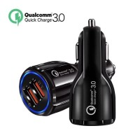 Charger Mobil 2 Port USB Car Charger Qualcomm Quick Charge 3.0