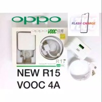 Charger Oppo R15 VOOC 4A FLASH CHARGE + Kabel Data Micro FAST CHARGING