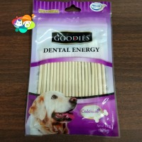 Goodies Dental Energy Stick Milk Dog Snack 125gr / Snack Anjing