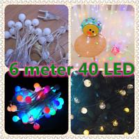Lampu Natal LED / Lampu Tumblr / Twinkle Light / Lampu Dekorasi Hias B