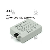 Baterai Battery LP-E5 1080 mAh for Camera Canon EOS 450D 500D 1000D