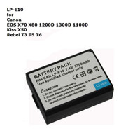 Baterai LP-E10 2200mAh for Camera Canon EOS 1100D 1200D 1300D T3 T5 T6