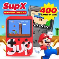 Sup Mini Portable Video Handheld Classic 400 in 1 Retro Gameboy Childr - Merah